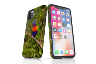 For iPhone 11 Pro Max Case  Protective Back Cover  Rainbow Lorikeet