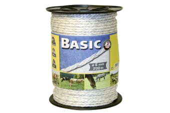 Basic Fencing Rope With Copper Wires (May Vary)