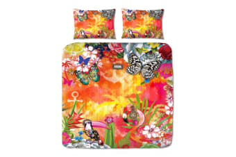 Exotic Quilt Cover Set by Melli Mello