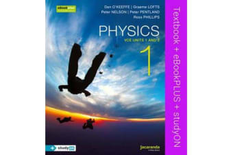 Physics 1 - VCE Units 1 and 2 & eBookPLUS + StudyOn