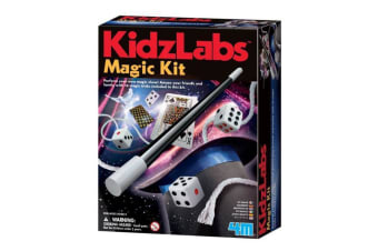 4M Kidz Labs Magic Tricks Kit