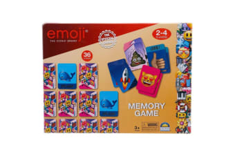 Emoji Memory Game 2-4 Players