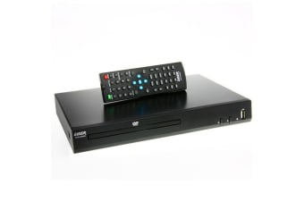 Laser HD DVD-HD009 DVD Player w/ HDMI/USB Port/Composite/Multi-Region/Remote BLK