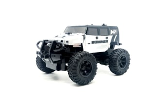 Rusco Racing RC 1:24 White Hummer RC Car - 2.4GHz