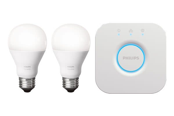 Philips Hue White A19 Starter Kit (2 x Bulbs)