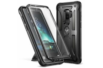 YOUMAKER HEAVY DUTY Shockproof KickStand Case Cover for Samsung Galaxy S9 Plus