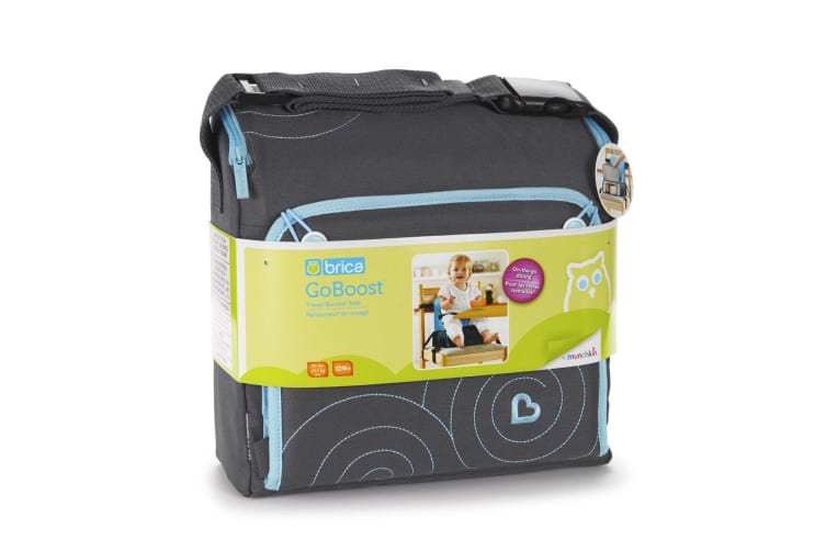 Brica Go-Boost Travel Booster Seat