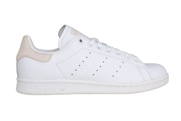 hot sales 5c9b5 2334e Adidas Originals Women's Stan Smith Shoes (White/White/Orchid, Size 6.5) -  Kogan.com