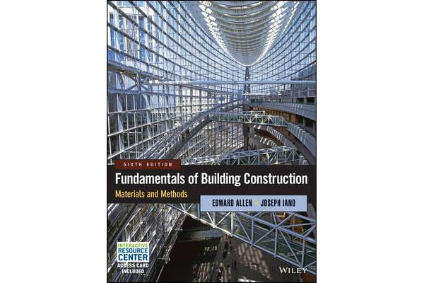 Fundamentals of Building Construction - Materials and Methods