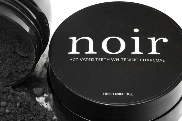 2 Pack Noir Activated Charcoal Teeth Whitening