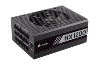 Corsair 1200W HX 80+ Platinum Fully Modular 140mm FAN ATX PSU 10 Years Warranty