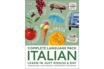 Complete Language Pack Italian - Learn in just 15 minutes a day