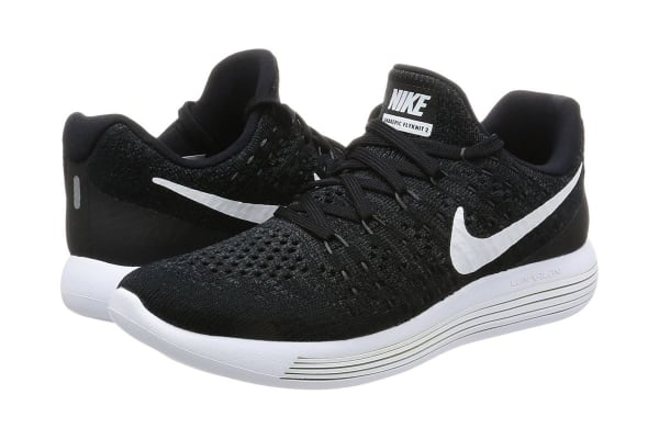 0c8c2099a7055 Nike Women s LunarEpic Low Flyknit 2 Running Shoe (Black White Anthracite