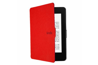 ULTRA SLIM COVER CASE FOR Kindle Paperwhite4(plain)-Red