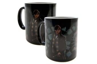 Fantastic Beasts Official Heat Changing Mug (Black)
