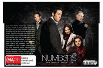 Numb3rs Complete Series Collection DVD Region 4