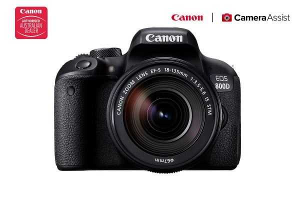 Canon EOS 800D DSLR Camera with EFS18-135 IS STMM Lens