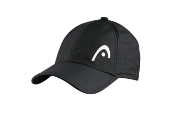 HEAD Pro Player Unisex Outdoor/Tennis UV protection Cap/Hat Adjustable Strap BK