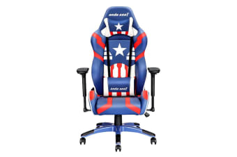 Anda Seat AD7-19 Special Edition Large Gaming Chair Blue/White/Red