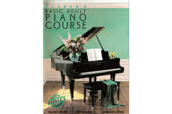 Alfred's Basic Adult Piano Course - Lesson Book Level Two