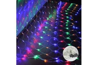 LED Fairy Net Lights Party Wedding 2x2m - Multicolour