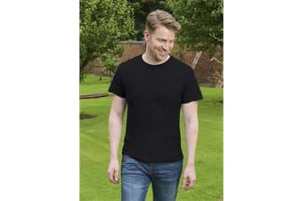 Casual Classic Mens Ringspun Original Tee (Black)