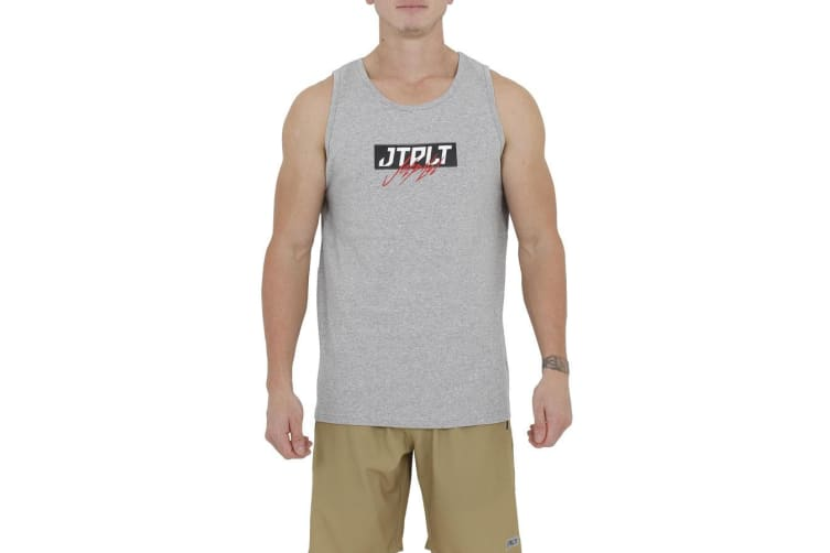 JetPilot Horrors Mens Tank - Heather - X-Large