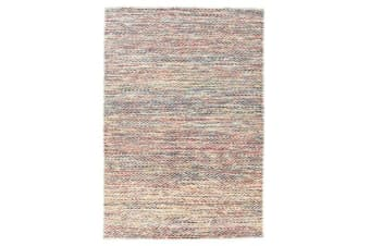 Roland Herringbone Multi Coloured Rug 280x190cm