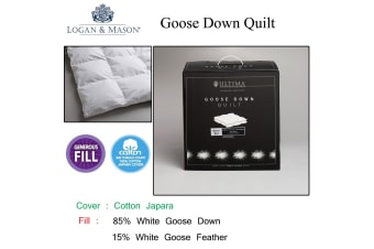 Goose Down Quilt Super King