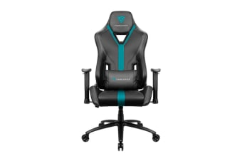 ThunderX3 YC3 Breathable Pinhole Surface Gaming Chair - Black/Cyan