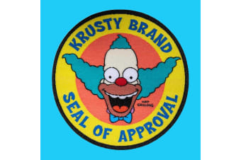 Krusty Brand Seal of Approval Embroidered Patch