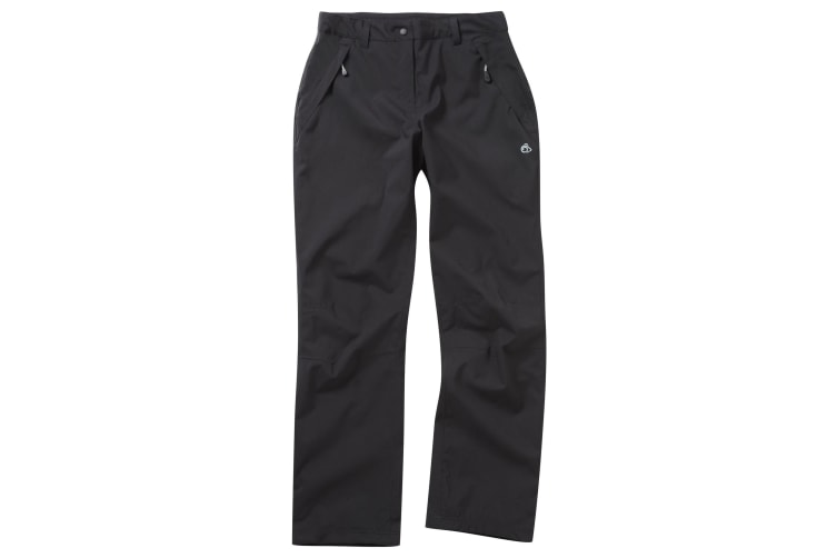 Craghoppers Outdoor Pro Womens/Ladies Airedale Hiking Trousers (Black) (16L)