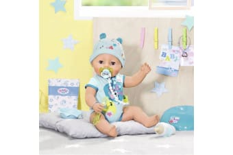 Baby Born Interactive Soft Touch Boy Doll