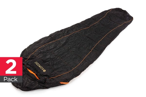 Komodo Ultra Compact Sleeping Bag (2 Pack)