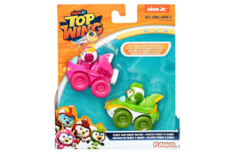 Playskool Top Wing Penny and Brody Racers