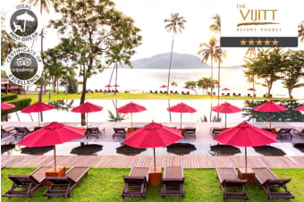 PHUKET: 5/7 Nights at the The Vijitt Resort Phuket for Two