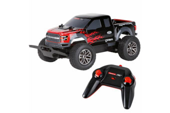 Carrera RC 1:18 USB Rechargeable Ford F-150 Raptor Off-Road - Black/Red