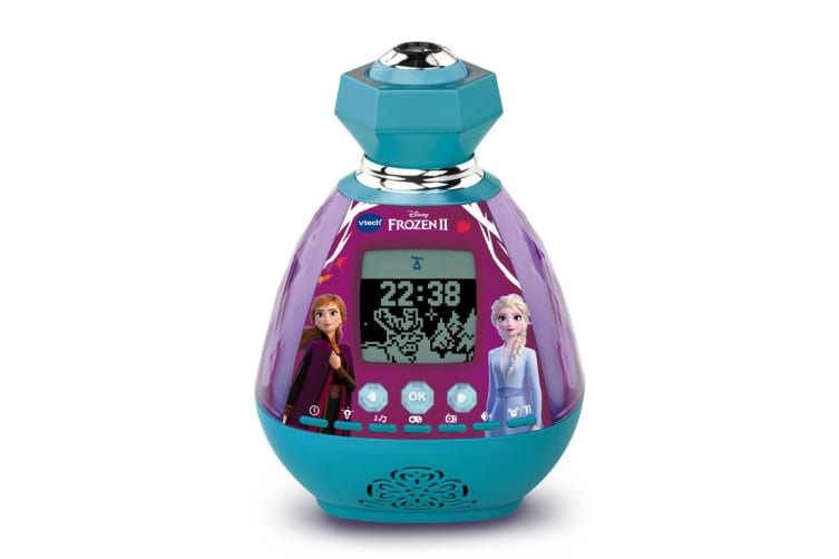 Vtech Frozen 2 Magic Colour Show Clock Radio