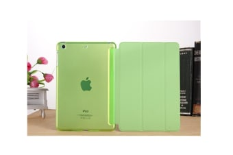Premium Leather Business Slim Folding Stand Folio Cover For Ipad Green Ipad2/3/4