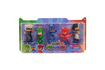 PJ Masks Collectible Figures Set - 5 Pack
