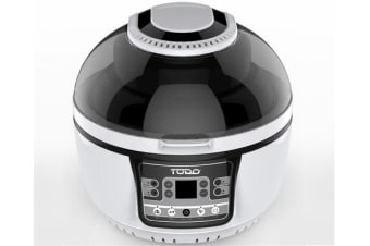 TODO 10L Air Fryer 1400W Convection Oven Rotisserie Multi Cooker Digital Control TODO
