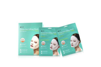 SNP Green Dot Lifting Mask (Calming) 20pcs