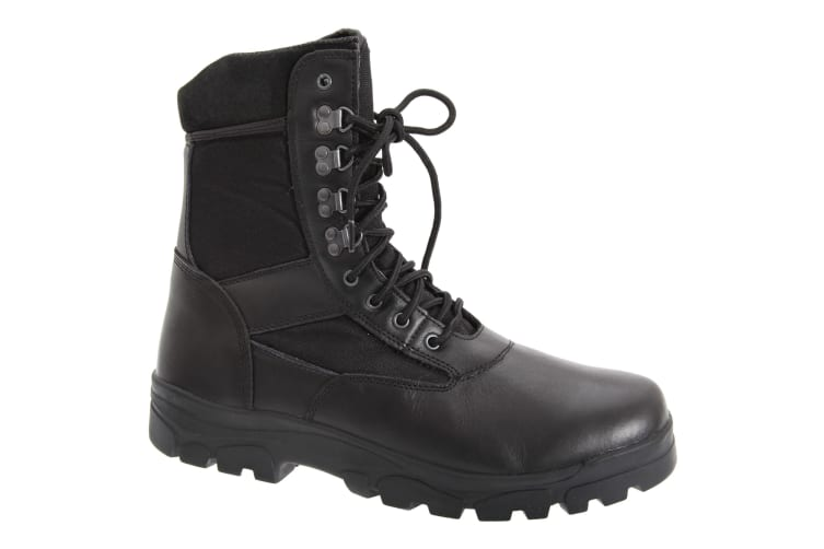 Grafters Mens G-Force Thinsulate Lined Combat Boots (Black) (11 UK)