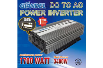 1700W Modified Inverter with Overload Protection