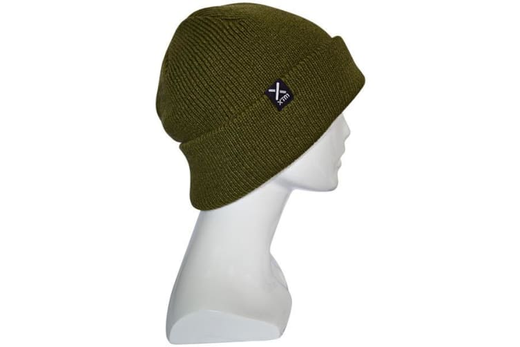 XTM Adult Male Beanies Woodie Beanie Olive - One Size