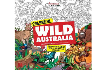 Wild Australia - Colouring Book