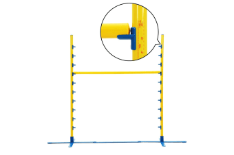 Agility Practice Adjustable Jump Bars for Dog Training