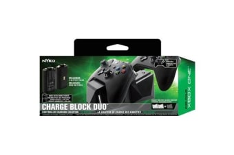 Nyko Charge Block Duo for Xbox One - Black
