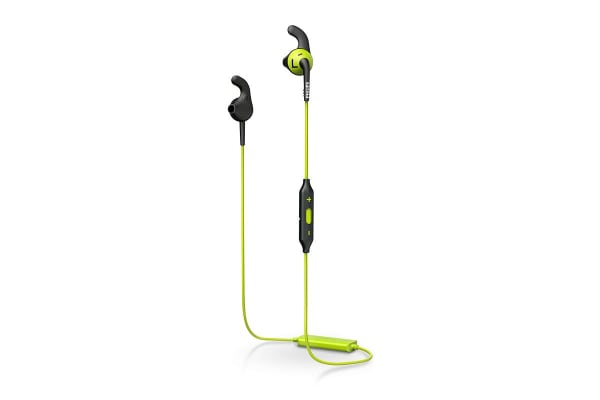 Philips ActionFit RunFree Bluetooth Sports Headphones - Carbon/Lime (SHQ6500CL)