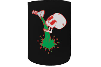 123t Stubby Holder - skullit - Funny Novelty
